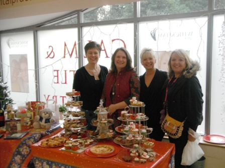 """""""Some of our hardworking charity committee, Coffee Morning Sat 8th Dec. Raising almost £400 for Gibside School in Whickham"""""""