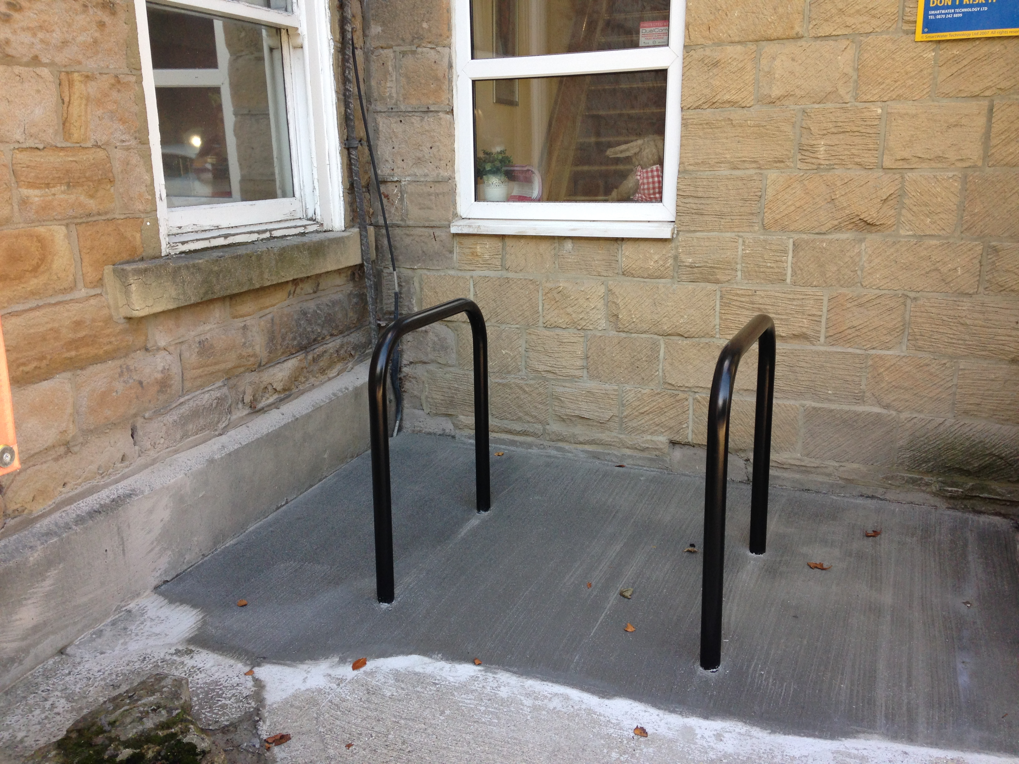 new cycling parking